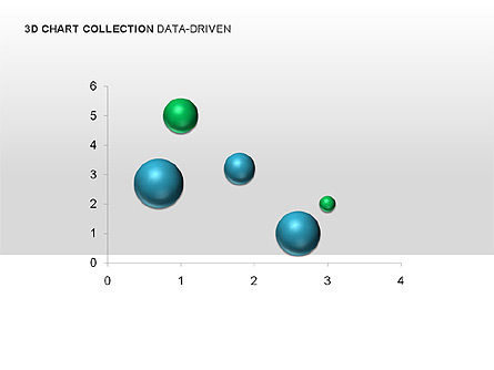 3D Charts in Yellow (Data-Driven) Collection Presentation Template, Master Slide