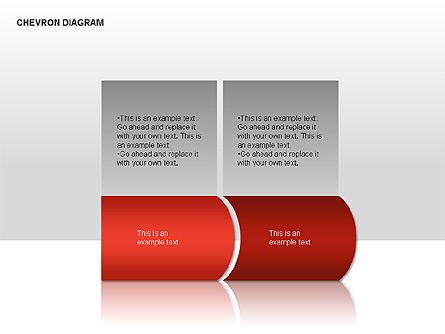 Chevron Diagram Presentation Template, Master Slide