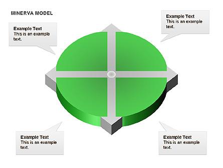 Minerva Model Presentation Template, Master Slide