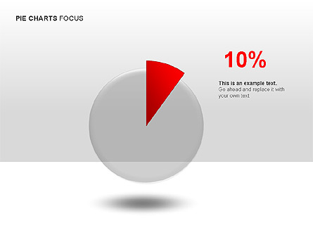 Pie Charts Collection Presentation Template, Master Slide