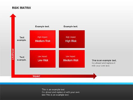 Risk Matrix Diagrams Presentation Template, Master Slide