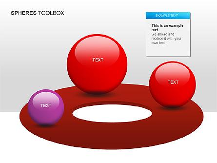 Spheres Toolbox Presentation Template, Master Slide