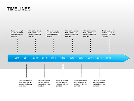 Timeline Diagrams Presentation Template, Master Slide