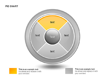 Pie and Donut Charts Collection Presentation Template, Master Slide