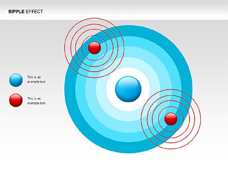 Ripple Effect Diagrams Presentation Template, Master Slide