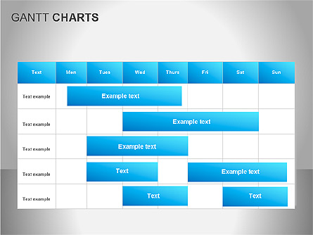 Gantt Charts for Presentations in PowerPoint and Keynote | PPT Star