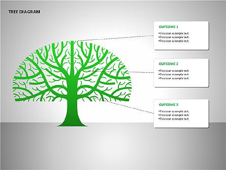 Tree Diagrams Presentation Template, Master Slide