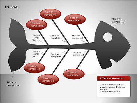 Fishbone diagrams for presentations in powerpoint and keynote ppt star fishbone diagrams presentation template master slide ccuart Images