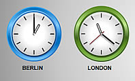 Time Zones Diagrams