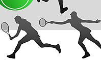 Free Tennis Silhouettes