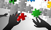 Puzzle Ideas Teamwork Diagrams