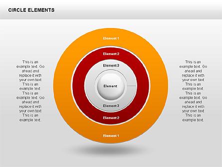 Circle Charts Presentation Template, Master Slide