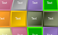 Text Blocks Shapes Collection