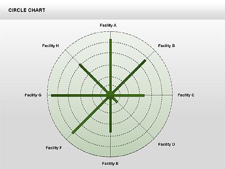 Radar Charts Collection Presentation Template, Master Slide