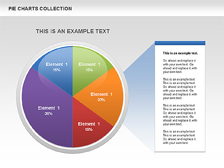 Pie Chart Collection For Presentations In Powerpoint And Keynote