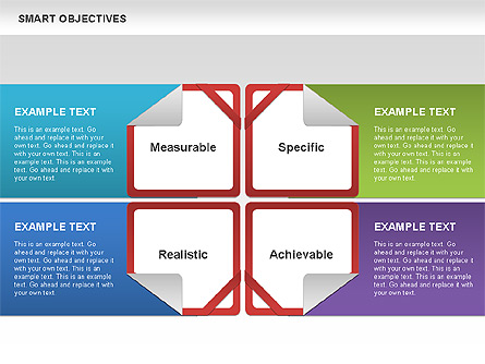 smart objectives for presentations in powerpoint and keynote | ppt, Presentation templates