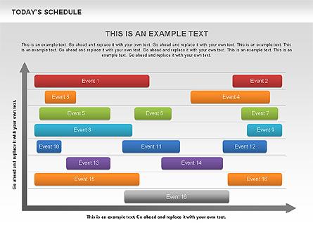Schedule Diagram Presentation Template, Master Slide