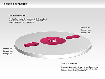 Tables and Text Boxes Presentation Template, Master Slide