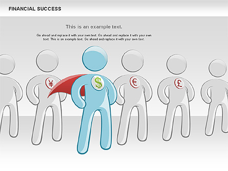 Financial Success Presentation Template, Master Slide