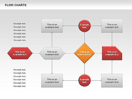 Flowchart Presentation Template, Master Slide