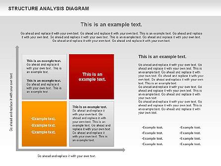 Structure Analysis Diagram Presentation Template, Master Slide