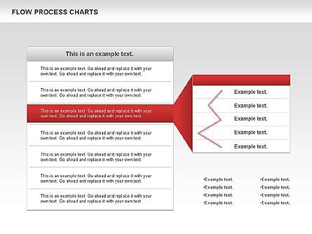 Process Flowchart Presentation Template, Master Slide