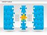 Concept Puzzles Chart slide 3