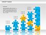 Concept Puzzles Chart slide 6