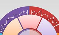 Data Driven Segments Pie Chart