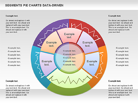 Data Driven Segments Pie Chart For Presentations In Powerpoint And