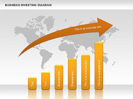 Business Investing Diagram Presentation Template, Master Slide