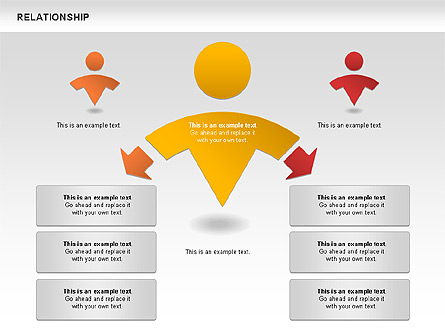 Relationship diagram for presentations in powerpoint and keynote relationship diagram ccuart Choice Image