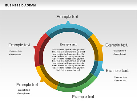 Marketing Report Diagram for Presentations in PowerPoint and Keynote