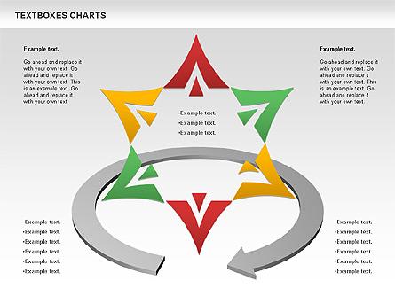 Business Charts Set Presentation Template, Master Slide