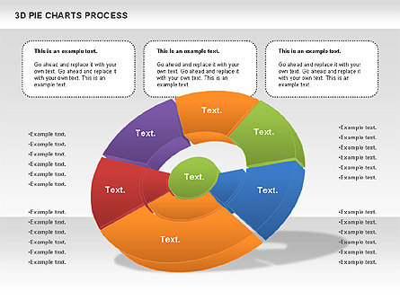 Donut pie chart for presentations in powerpoint and keynote ppt star donut pie chart ccuart Gallery