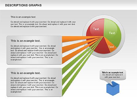 Description Graph Presentation Template, Master Slide
