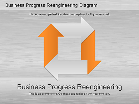 Business process reengineering diagram for presentations in business process reengineering diagram presentation template master slide wajeb Images