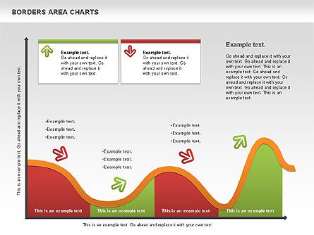Line Area Chart Presentation Template, Master Slide