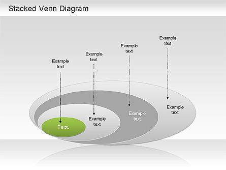 Stacked Venn Diagram Presentation Template, Master Slide