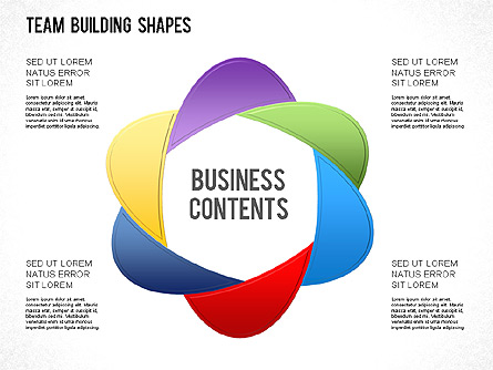 Team Building Shapes Collection For Presentations In Powerpoint And