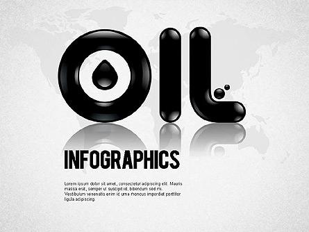 Oil Infographics Presentation Template, Master Slide
