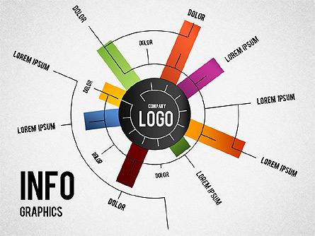 Infographics Toolbox Presentation Template, Master Slide