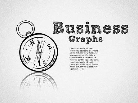 Sketch Style Business Shapes Presentation Template, Master Slide
