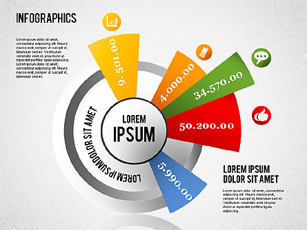 Infographics Set for Presentations in PowerPoint and Keynote   PPT ...