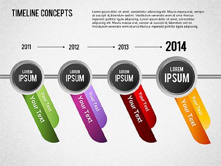 Timeline Concepts Presentation Template, Master Slide
