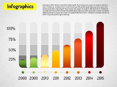 Infographics Report Presentation Template, Master Slide