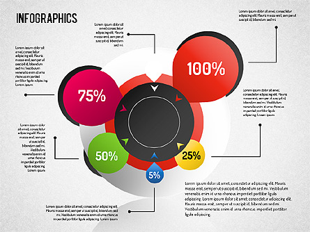 Infographic Set Presentation Template, Master Slide