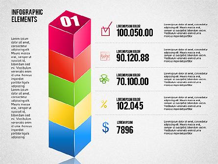Bar Charts Toolbox Presentation Template, Master Slide
