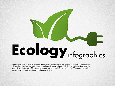 Ecology Infographics Presentation Template, Master Slide