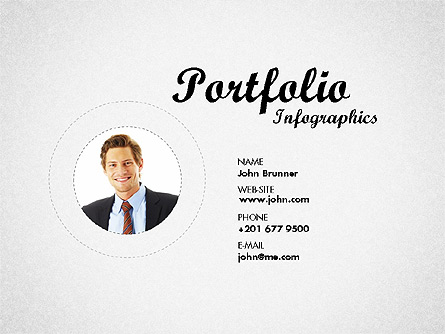 Resume Template Presentation Template, Master Slide